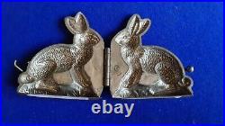 Randle & Smith Birmingham Rabbit Chocolate Mold early 20th Century