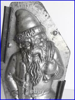 Rare A3 Big 10 Antique Walter 8312 Santa Claus Chocolate Mold