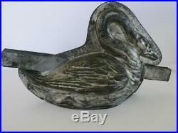 Rare Antique 1920 Letang France 963 Swan Chocolate Mold