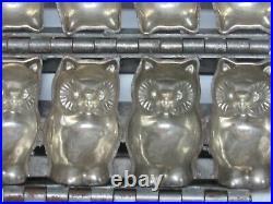 Rare Antique Primitive Halloween Owl Candy Chocolate Mold
