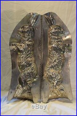 Rare! Antique Vintage Chocolate Mold 19.5'' Standing Rabbit no. 5318 H. Walter