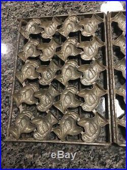Rare Anton Reiche Antique Chocolate Turkey Multi Mold Vintage