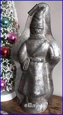 Rare Kutzscher 10 Antique Father Christmas Santa Chocolate Molds Vintage Early