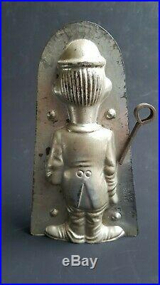Rare antique chocolate mold Stan Laurel, Herman Walter