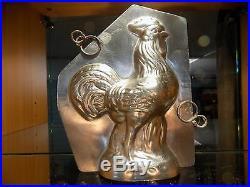 Rooster Chocolate Mold Mould Schokoladenform Molds Vintage Antique Coq Matfer