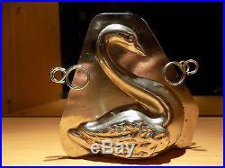 Swan Chocolate Mold Mould Schokoladenform Vintage Antique