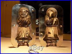 Santa Claus Chocolate Mold Antique Mould Vintage Schokoladenformen
