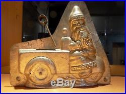 Santa Claus Heris Nürnberg 4197 Mould Chocolate Mold Vintage Antique