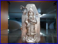 Santa With Bag Chocolate Mold Mould Molds Vintage Antique
