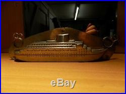 Ship Boat Chocolate Mold Molds Vintage Antique Bateaux N/16161