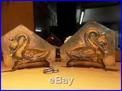 Swan Chocolate Mold Molds Vintage Antique Mould
