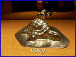 Tortue Turtle Chocolate Mold Mould Schokoladenform Molds Vintage Antique