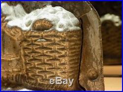 Vendor Bunny Chocolate Mold Mould Molds Vintage Antique
