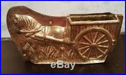 Very Rare Antique Anton Reiche Chocolate Mold Horse With Cart 30331 53 Germany