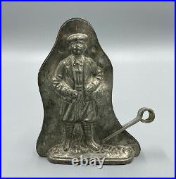 Very Rare Antique Anton Reiche Man Chocolate Mold Made in 1923