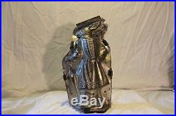 Very Rare! Antique/Vintage Chocolate Mold of a 12'' Victorian Lady withParasol