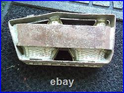 Very Rare Vintage Double Chicken/hen Hinged Candy Mold L@@k