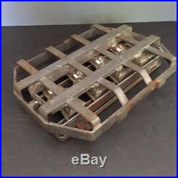 Vintage ANTIQUE HORNLEIN Chocolate Molds 2 Part GERMANY antique BUNNY RARE