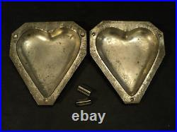 Vintage Am. Eppelsheimer Heart Chocolate Mould, #8889