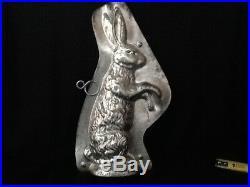 Vintage Antique Chocolate Bunny Rabbit Mold