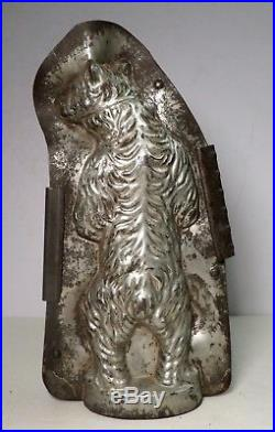 Vintage Antique Chocolate Mold Anton Reiche Russian Standing Bear 9 1/8