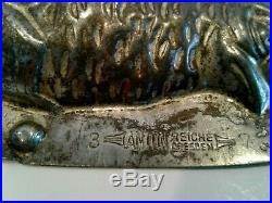 Vintage Antique Chocolate Mold-Reiche-Weygandt-USA-1937-Hatching Chick # 25478