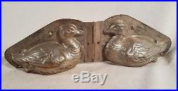 Vintage Antique Weygandt 16744 Anton Reiche 6 Chocolate Mold Duck