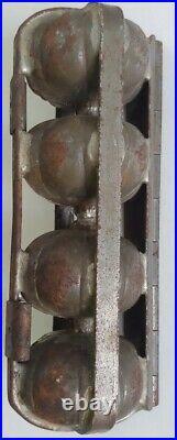 Vintage, Anton Reiche Antique Halloween 17688 Pumpkin Chocolate Mold Halloween