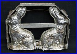 Vintage Bunny/Rabbit chocolate mold, 12 high x 9 wide x 2 deep