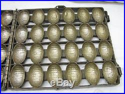 Vintage Easter Chocolate Peanut Butter Filled Egg Candy Mold Confectioner