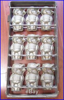 Vintage Large Multi Press of 9 JOCKEY's Chocolate Mold
