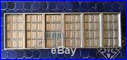 Vintage Wilbur Suchard Chocolate Company 6 Chocolate Bar Metal Mold WSC