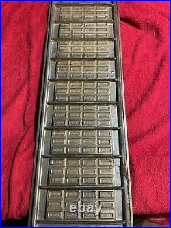 Vintage antique Hersheys chocolate bar mold pan bar old bite-size bar mold