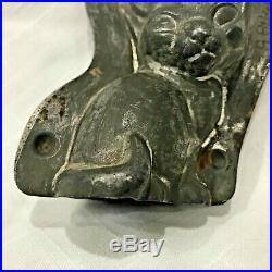 Vtg Anton Reiche Dresden Cat Chocolate Mold Tin Metal Germany 17485 28 Antique