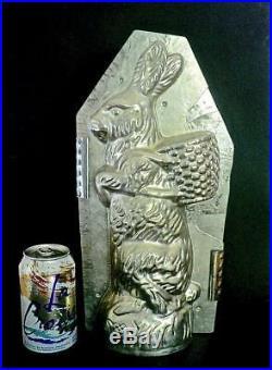 Weygandt Big 15 Rabbit 411 Antique Chocolate Mold