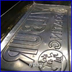 Wilbur Chocolate Mfg. Coating Choc. Candy Metal Pan Mold Lrg. 19×11