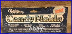 Wilton- Vintage (1981)- STAR WARS Candy Molds (2 Molds) New On Card