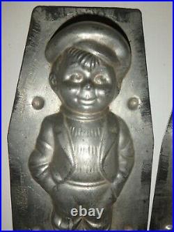 XRARE Antike Schokoladenform JUNGE antique chocolate mold BOY WALTER BERLIN 5290