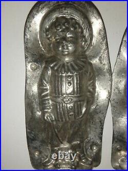 XRARE Antike Schokoladenform VIKTORIAN BOY antique chocolate mold REICHE # 7531