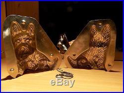 Yorkshire Dog Mould Chocolate Mold Molds Vintage Antique
